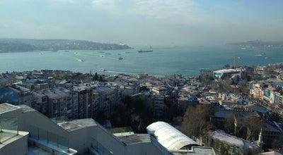 Photo of Roof Deck Conrad İstanbul Executive Lounge at Saray Mah. Cihannüma Cad. No:5 Beşiktaş, İstanbul, Turkey