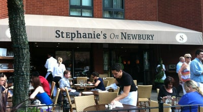 Photo of American Restaurant Stephanie's on Newbury at 190 Newbury St, Boston, MA 02116, United States