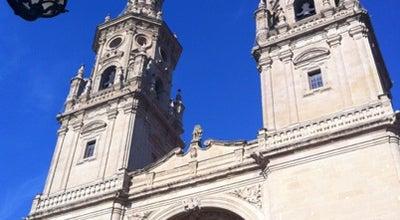 Photo of Church Catedral La Redonda at Portales, Logroño, Spain