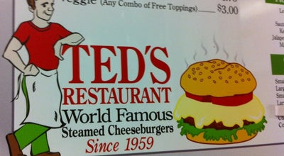 Photo of Burger Joint Ted's Restaurant at 1046 Broad St, Meriden, CT 06450, United States