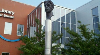 Photo of Outdoor Sculpture Frank Zappa Statue at Eastern Ave, Baltimore, MD 21224, United States