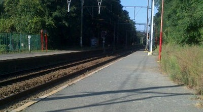 Photo of Train Station Gare de Saint-Job / Station Sint-Job at Chaussée De Saint-jobsteenweg, Uccle 1180, Belgium
