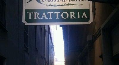 Photo of Mediterranean Restaurant Trattoria Rosmarino at Salita Del Fondaco, Genova 16123, Italy