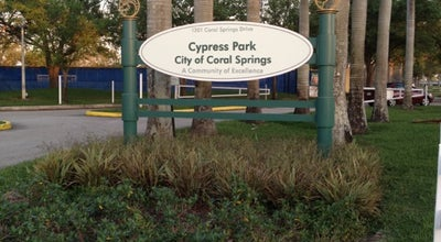 Photo of Park Cypress Park at Coral Springs Dr., Coral Springs, FL 33071, United States