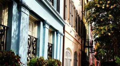 Photo of Neighborhood Rainbow Row at 95 E Bay St, Charleston, SC 29401, United States