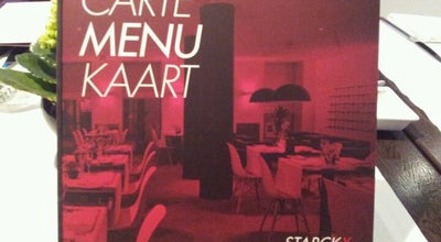Photo of French Restaurant Starckx at Kerkstraat 26, Blankenberge, Belgium