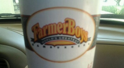 Photo of American Restaurant Farmer Boys at 18288 Collier Ave, Lake Elsinore, CA 92530, United States