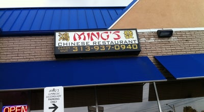Photo of Chinese Restaurant Ming's Chinese Restaurant at 26360 Plymouth Rd, Redford, MI 48239, United States