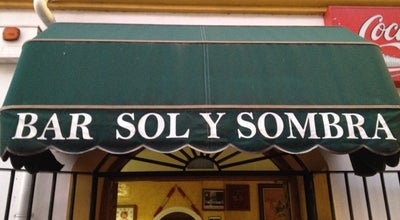 Photo of Bar Sol Y Sombra at Calle Zaragoza, Jerez de la Frontera 11405, Spain
