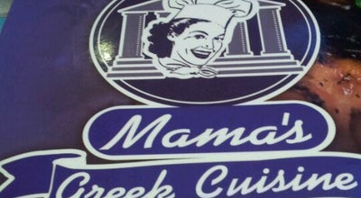 Photo of Greek Restaurant Mama's Greek Cuisine at 735 Dodecanese Blvd, Tarpon Springs, FL 34689, United States