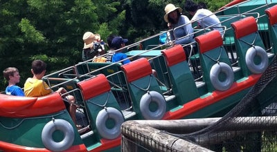 Photo of Theme Park Ride / Attraction Caddo Lake Barge at Six Flags Over Texas, Arlington, TX, United States