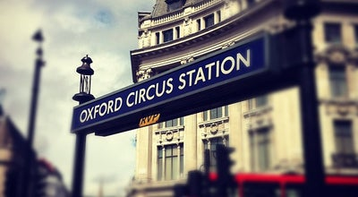 Photo of Subway Oxford Circus London Underground Station at Oxford St, London W1R 1AB, United Kingdom