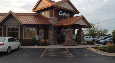 Photo of Burger Joint Cinder's Charcoal Grill at 221 S Kensington Dr, Appleton, WI 54915, United States