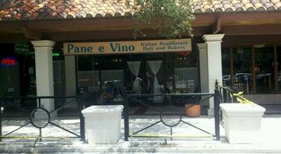 Photo of Italian Restaurant Pane E Vino Italian Restaurant at 1800 W Hibiscus Blvd, Melbourne, FL 32901, United States