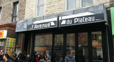 Photo of Breakfast Spot Restaurant L'Avenue at 922 Ave. Du Mont-royal Est, Montréal, QC H2J 1X2, Canada