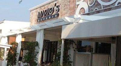 Photo of Italian Restaurant Mario's Osteria at 1400 Glades Rd, Boca Raton, FL 33431, United States