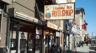 Photo of Caribbean Restaurant Ali's T & T Roti at 1267 Fulton St, Brooklyn, NY 11216, United States
