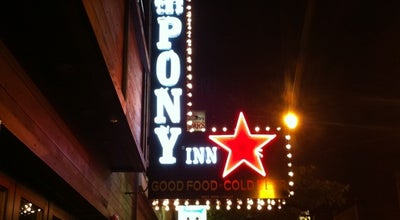 Photo of Sports Bar The Pony Inn at 1638 W Belmont Ave, Chicago, IL 60657, United States