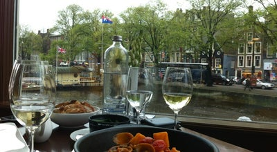 Photo of Restaurant Hoofdstad Brasserie - De L'Europe at Nieuwe Doelenstraat 2-14, Amsterdam 1012 CP, Netherlands
