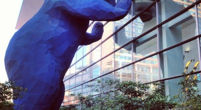 Photo of Outdoor Sculpture Big Blue Bear (I See What You Mean) at 700 14th St, Denver, CO 80202, United States