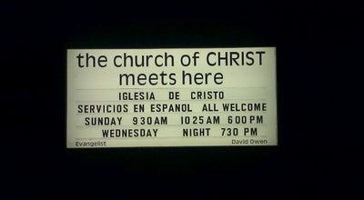 Photo of Church Tustin Church of Christ at 16481 E Main St, Tustin, CA 92780, United States