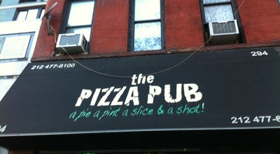 Photo of Pizza Place The Pizza Pub at 294 3rd Ave, New York, NY 10010, United States