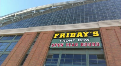 Photo of American Restaurant TGI Fridays Front Row Sports Grill at Miller Park, Milwaukee, WI 53214, United States