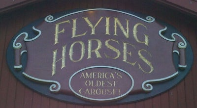 Photo of Theme Park Ride / Attraction Flying Horses Carousel at 15 Oak Bluffs Ave, Oak Bluffs, MA 02557, United States