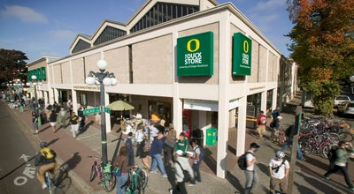 Photo of College Bookstore The Duck Store at 895 E 13th Ave, Eugene, OR 97401, United States