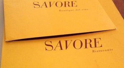 Photo of Italian Restaurant Savore at 200 Spring St, New York, NY 10012, United States