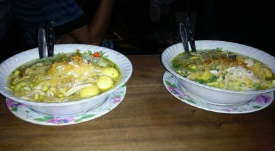Photo of Breakfast Spot Soto ayam cak wari at Krian, Sidoarjo 61262, Indonesia