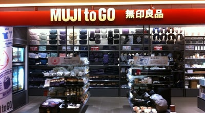 Photo of Clothing Store MUJI to GO 成田国際空港第1ターミナル at 三里塚御料牧場1-1, 成田市 282-0011, Japan