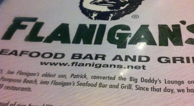 Photo of Seafood Restaurant Flanigan's Seafood Bar & Grill at 1550 W 84th St, Hialeah, FL 33014, United States