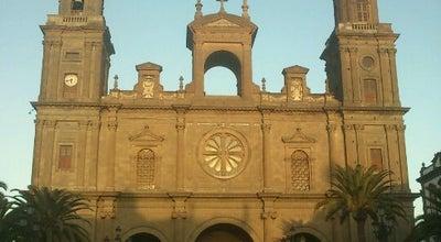 Photo of Church Catedral de Las Palmas at Plaza De Santa Ana, 13, Las Palmas de Gran Canaria 35001, Spain