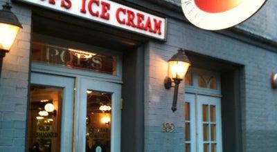 Photo of Ice Cream Shop Pops Old Fashioned Ice Cream Company at 109 King St, Alexandria, VA 22314, United States