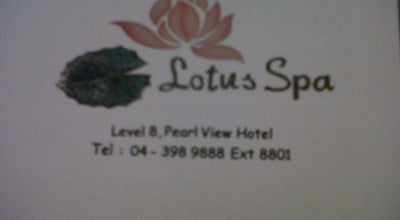 Photo of Spa Lotus Spa at Pearl View Hotel, Malaysia