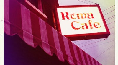 Photo of Italian Restaurant Roma Cafe at 3401 Riopelle St, Detroit, MI 48207, United States