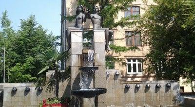 Photo of Monument / Landmark Фонтан Валентин и Валентина at Просп. Мира, 82, Красноярск, Russia