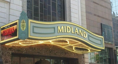 Photo of Music Venue Arvest Bank Theatre at the Midland at 1228 Main St, Kansas City, MO 64105, United States