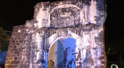 Photo of History Museum Porta De Santiago (A Famosa Fortress) at Jalan Kota, Melaka 75000, Malaysia