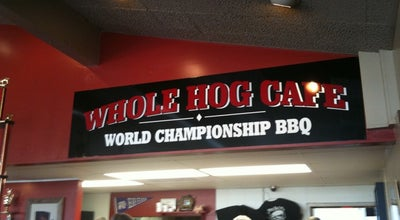 Photo of BBQ Joint Whole Hog Cafe at 150 E Oak St, Conway, AR 72032, United States