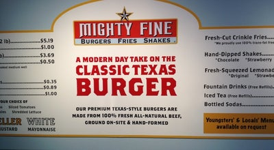 Photo of Burger Joint Mighty Fine Burgers at 1335 E Whitestone Blvd, Cedar Park, TX 78613, United States