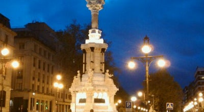 Photo of Monument / Landmark Monumento De Los Fueros at Paseo Sarasate, Pamplona 31001, Spain