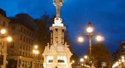 Photo of Monument / Landmark Monumento De Los Fueros at Paseo Sarasate, Pamplona 31001, Spain