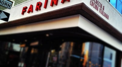 Photo of Italian Restaurant Farina at 3560 18th St, San Francisco, CA 94110, United States