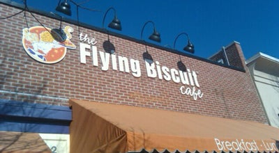 Photo of Restaurant The Flying Biscuit at 2016 Clark Ave, Raleigh, NC 27605, United States