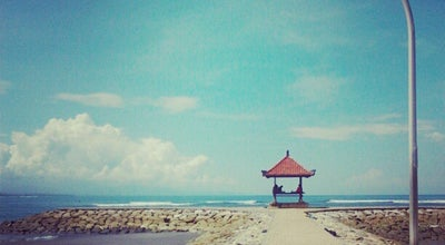 Photo of Beach Pantai Sanur (Sanur Beach) at Jalan Pantai Sanur, Denpasar 80227, Indonesia