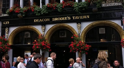 Photo of Pub Deacon Brodie's Tavern at 435 Lawnmarket, Edinburgh EH1 2NT, United Kingdom