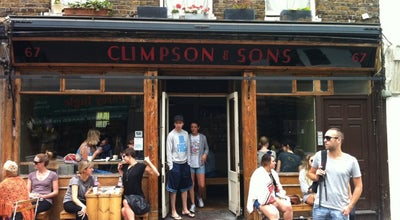 Photo of Coffee Shop Climpson & Sons at 67 Broadway Market, London E8 4PH, United Kingdom