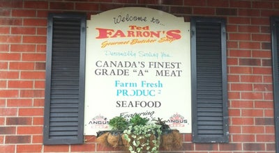 Photo of Butcher Farron's Gourmet Butcher Shop at Windsor, ON, Canada